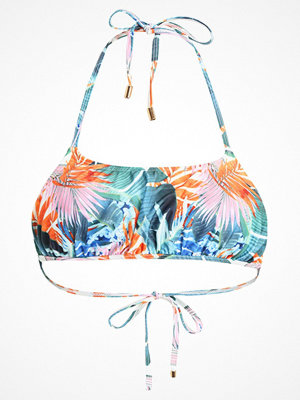 Lost Ink TROPICAL BLOUSON Bikiniöverdel multicoloured