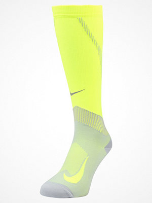 Nike Performance ELITE COMPRESSION OVER THE CALF RUNNING  Knästrumpor volt/wolf grey