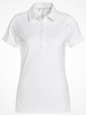Pikétröjor - Under Armour ZINGER NOVELTY POLO Funktionströja white