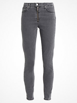 Topshop ZIP JAMIE Jeans slim fit washed black