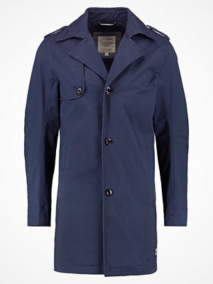 Trenchcoats - Tom Tailor Denim AUTHENTIC Trenchcoat black iris blue