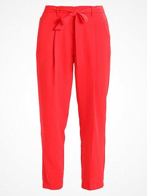New Look OLIVIA TIE WAIST TROUSER Tygbyxor bright red röda