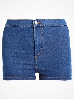 Topshop JONI Jeansshorts blue denim