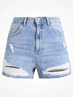 Topshop NEW MOM Shorts blue denim