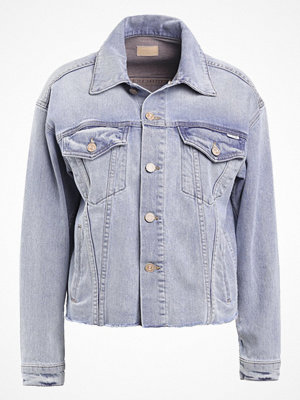 Mother THE POCKET BLOUSON Jeansjacka blue denim