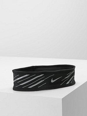 Nike Performance 360 FLASH HEADBAND Öronvärmare black/silver/silver