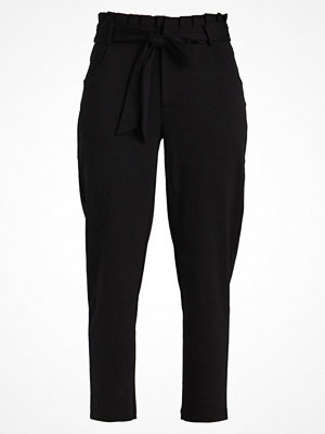 Only ONLOLIVA 7/8 PANTS  Tygbyxor black