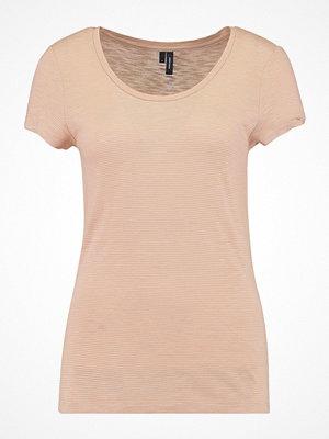 Vero Moda VMELA Tshirt med tryck natural
