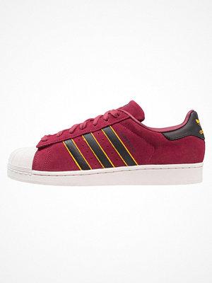 Adidas Originals SUPERSTAR Sneakers red/core black/yelllow adiprene