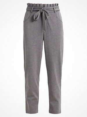 Only ONLOLIVA 7/8 PANTS  Tygbyxor medium grey melange grå