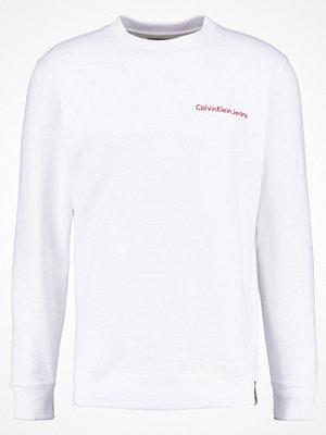 Calvin Klein Jeans HOROS REGULAR FIT Sweatshirt bright white