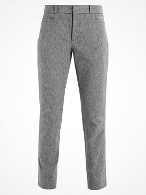Banana Republic SLOAN TEXTURE PANT Tygbyxor heathered charcoal grå