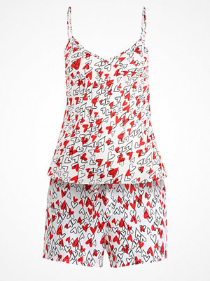 Even&Odd SET Pyjamas white/red