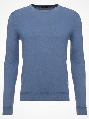 Sisley Stickad tröja mottled royal blue