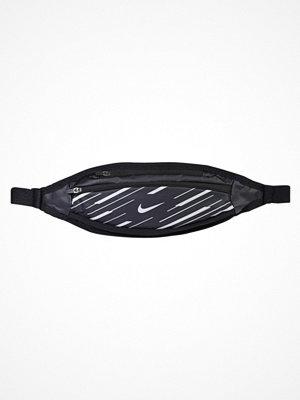 Nike Performance 360 FLASH SMALL CAPACITY WAISTPACK Axelremsväska black/silver