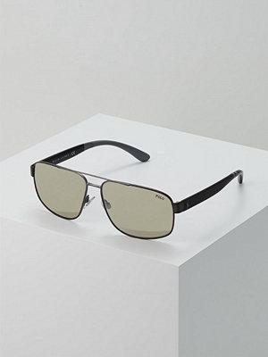 Polo Ralph Lauren Solglasögon light brown mirror dark gold