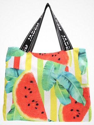 Strandplagg - Jaded London 2 IN 1 TOWEL BAG WATERMELON PRINT Strandaccessoar  multicoloured