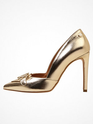 Love Moschino Klassiska pumps gold