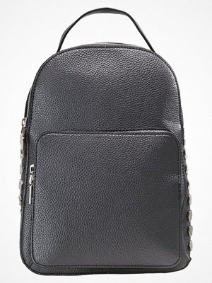 Missguided MINI SIDE BACKPACK Ryggsäck black svart