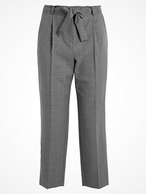 Dorothy Perkins WORK TAPERED Tygbyxor grey grå rutiga