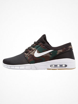 Nike Sb STEFAN JANOSKI MAX Sneakers black/white/medium olive/light brown