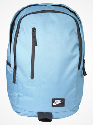 Nike Sportswear ALL ACCESS SOLEDAY Ryggsäck aqua/black/white himmelsblå