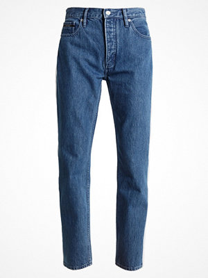 Calvin Klein Jeans STRAIGHT TAPED Jeans straight leg dark blue/white