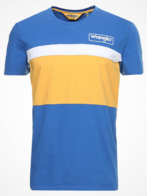 Wrangler CUT&SEW TEE Tshirt med tryck nautical blue