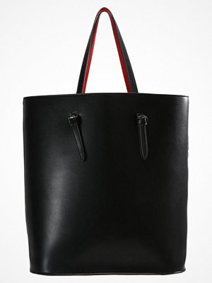 Even&Odd svart shopper Shoppingväska black/red