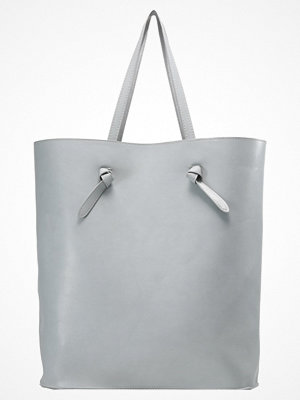 Even&Odd ljusgrå shopper Shoppingväska grey/silver