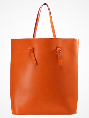 Even&Odd röd shopper Shoppingväska orange/pink