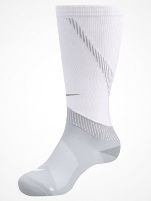 Nike Performance ELITE COMPRESSION OVER THE CALF RUNNING  Knästrumpor white/wolf grey
