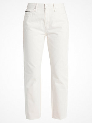 Calvin Klein Jeans HIGH RISE STRAIGHT ANKLE Jeans straight leg glass rgd