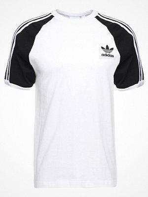 Adidas Originals ADICOLOR 3STRIPES TEE Tshirt med tryck white/black