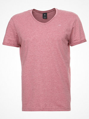 G-Star GStar SHELO REGULAR V T S/S Tshirt bas light garnet heather