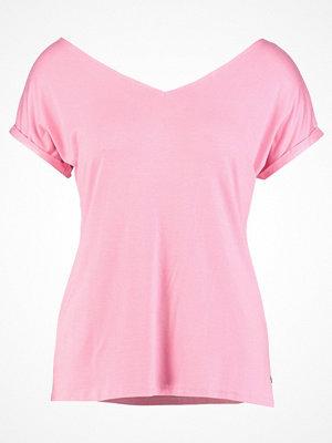 Cream ADRIANA Tshirt med tryck sea pink