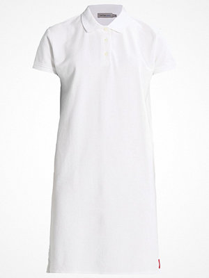 Calvin Klein Jeans DORE POLO DRESS Jerseyklänning bright white