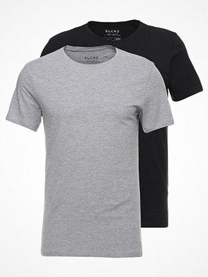 Blend 2PACK Tshirt bas black/stonemix