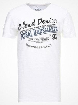 Blend REGULAR FIT Tshirt med tryck white