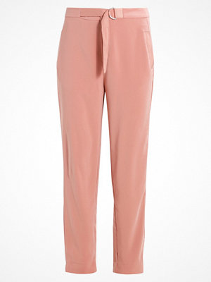 Saint Tropez PANTS WITH RINGS Tygbyxor rose persikofärgade