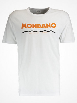 Wood Wood MONDANO Tshirt med tryck bright white
