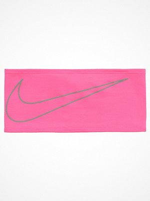 Nike Performance DRIFIT SWOOSH RUNNING HEADBAND Öronvärmare hyper pink/silver