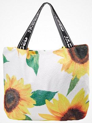 Strandplagg - Jaded London TOWEL BAG SUNFLOWER PRINT 2IN1 Strandaccessoar  sunflower
