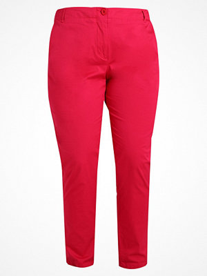 Anna Field Curvy röda byxor Chinos pink
