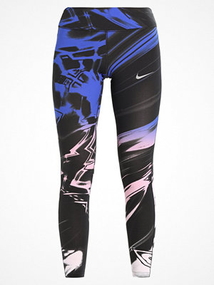 Nike Performance POWER EPIC LUX RUNNING Tights hyper royal/crimson pulse/reflective silver