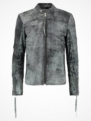 Skinnjackor - Tigha DANIEL SUEDE Skinnjacka vintage grey