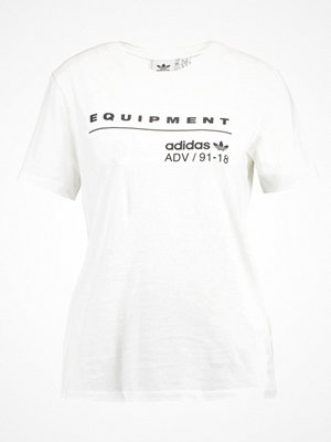 Adidas Originals EQT TEE Tshirt med tryck white