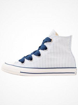 Converse CHUCK TAYLOR ALL STAR BIG EYELETS Höga sneakers blue slate/white/navy