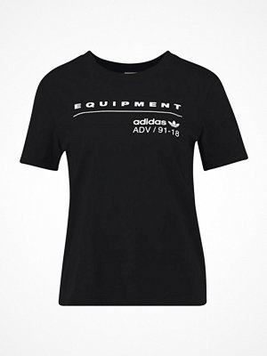 Adidas Originals EQT TEE Tshirt med tryck black