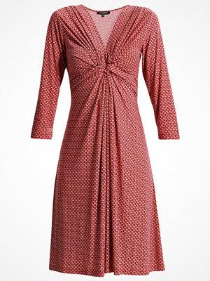 Ilse Jacobsen KIMO Jerseyklänning deep red